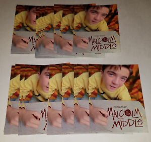 21-Music-From-Malcolm-In-Middle-Promotional-Cards-Postcard-Size-UNUSED-Lot
