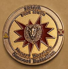 1916th Support Battalion Fort Irwin Commander's Army Challenge Coin