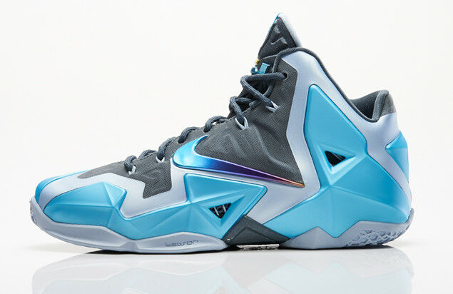 Nike LeBron 11 XI Gamma Blue Comfortable Cheap and beautiful fashion