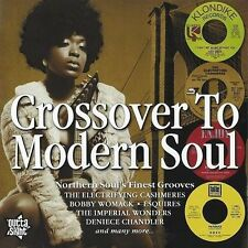 CROSSOVER TO MODERN SOUL Various Artists NEW SEALED NORTHERN SOUL CD OUTTA SIGHT