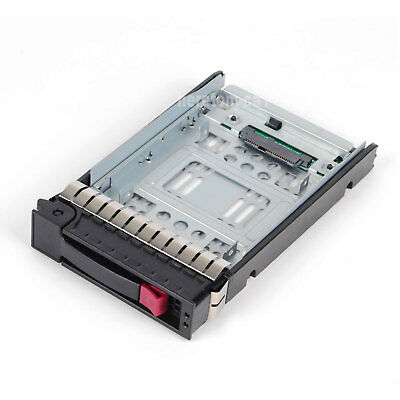 """SAS//SATA//SSD 2.5/"""" to 3.5/"""" Adapter For 3.5/"""" HP ProLiant DL160 G6 Caddy US Seller"""