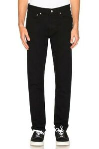Calvin-Klein-CKJ016-Men-039-s-Skinny-Fit-Moulant-Infinite-Black-Jeans
