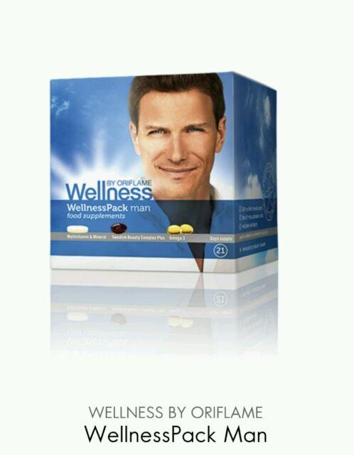 Oriflame WellnessPack Man, Food Supplements, New