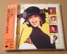 Sonia - Everybody Knows ultra Rare Japanese Cd Album 1990 +OBI +Lyric Book PWL