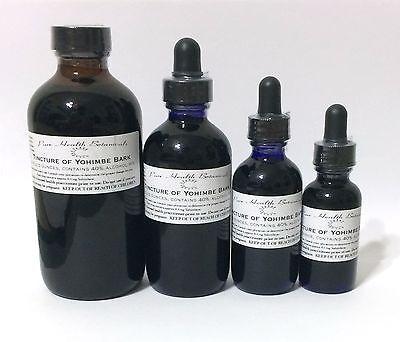 Yohimbe Bark Tincture, Extract, aphrodisiac, Yohimbine HCl, Johimbe