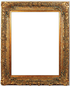 75quot fancy gold ornate oil painting wood picture frame