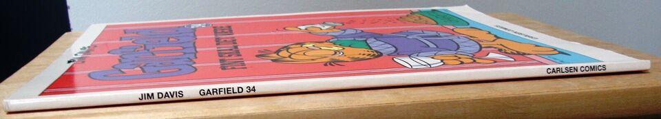 SOLGT - Garfield 34: Fint skal det være, Jim Davis,