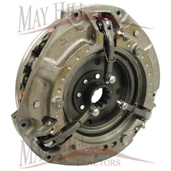 Massey Ferguson Clutch Assembly Dual, 12  10  6 Red Springs 10 Spline PTO