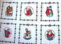 Vip Cranston Memories Christmas Past 6 Picture Book Design Cotton Fabric
