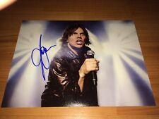 EUROPE Joey Tempest signed Autogramme auf 20x28 cm Foto InPerson LOOK