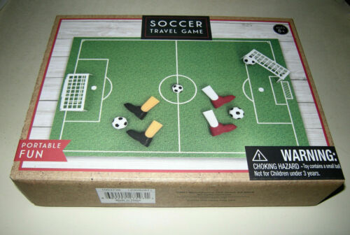 Finger Soccer Travel Game Perfect for Road Trip Entertainment Portable Fun