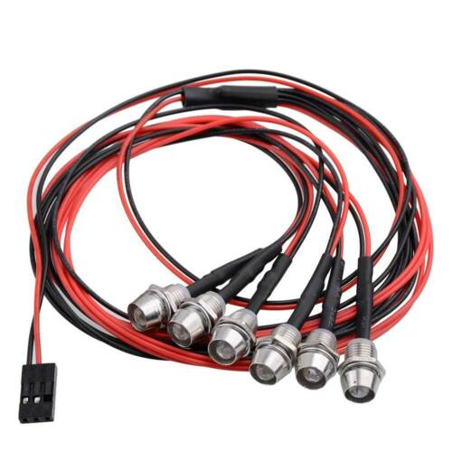 RC LED The lamp 2x5mm Red 2X5mm White /& 2x Multicolor 5mm  For 1:10 Drift Car