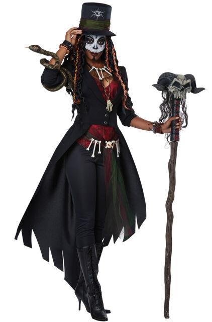 Good Brand New Voodoo Magic Queen Adult Costume