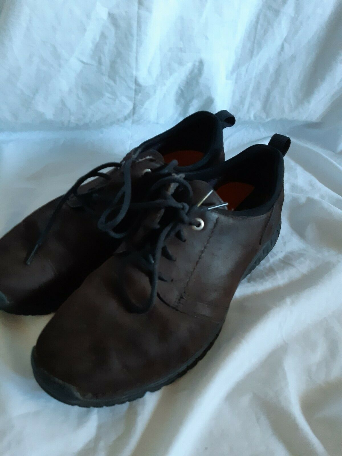 Timberland mens brown suede leather shoes size US 9W