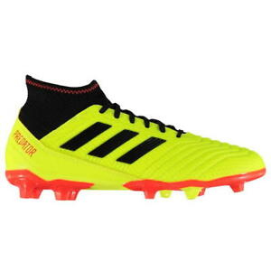 brand new f7381 43a34 Image is loading adidas-Predator-18-3-Mens-FG-Football-Boots-