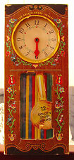 THE GOLDEN HOURS LIBRARY Box Set 12 Story Books Play Clock with Movable Hands L1