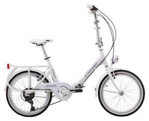 Bici Pieghevole Cicli Cinzia.Bicicletta Pieghevole 20 6v Cicli Cinzia Sixtie S Aluminium 20