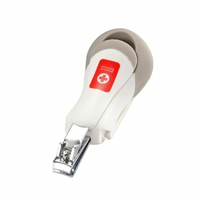 THE FIRST YEARS AMERICAN RED CROSS DELUXE NAIL CLIPPER WITH MAGNIFIER FY7064