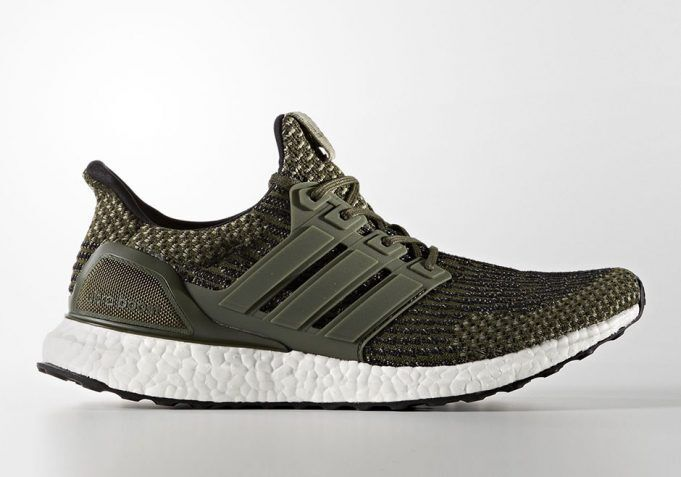 2017 Adidas Ultra Boost 3.0 Trace Cargo Olive LTD Size 14. BA7748 Yeezy NMD PK