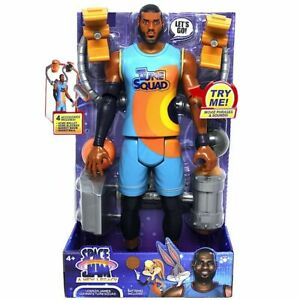 """LEBRON JAMES Space Jam A New Legacy Ultimate Tune Squad 12"""" Action Figure New"""