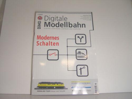 Modernes Schalten DiMo Heft Digitale Modellbahn 3//2018