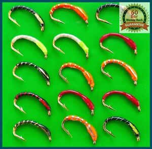 Trout-Fishing-Flies-Epoxy-Buzzers-Hook-Sizes-6-18-set-90-Fly-Fishing-Fly-Sale