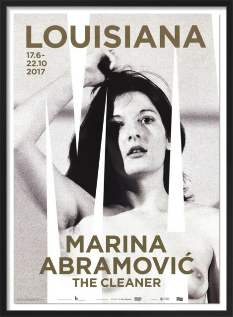 fotografi louisiana plakat, Marina Abramovic, motiv: the…