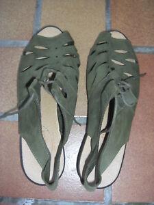 belles-sandales-cuir-tres-souple-Swedi-39-vert-olive-talon-3-5-cm-environ