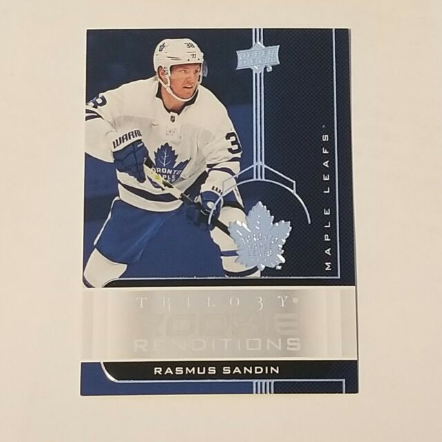 Rasmus Sandin 2019-20 Upper Deck Trilogy Rookie Renditions RR-48 Maple Leafs
