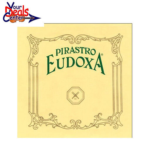 Eudoxa Violin String Set 4 4 Wound E Loop Medium