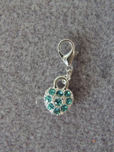 Bettelarmband Kette Beads Farbwahl Anhänger CHARMS  °  HERZ   HEART  STRASS ° f
