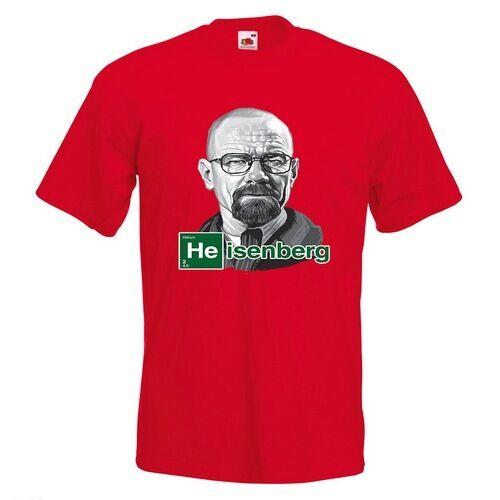 Breaking Bad Sketch Mens PRINTED T-SHIRT Walter White Heisenberg TV