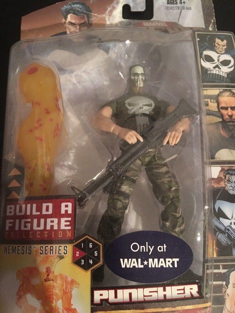 Marvel leggende Walmart ExclusivePUNISHER VARIANTENemesis BAF RARO 2007
