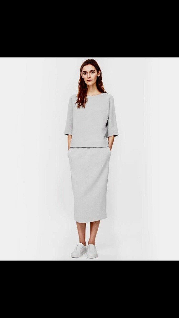 SOLD OUT COS Gonna a Tubino Midi & Slouch Top Maglione Co Ord Tuta XS 6 8 10 RRP