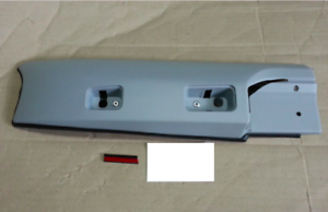 GENUINE BRAND NEW ROOF RACK COVER RH FRONT ONLY SUITS HYUNDAI TERRACAN 2001-2004