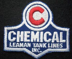 CHEMICAL-LEAMAN-TANK-LINES-SEW-ON-PATCH-TRANSPORT-LOGAN-TOWNSHIP-NJ-3-034-x-2-7-8