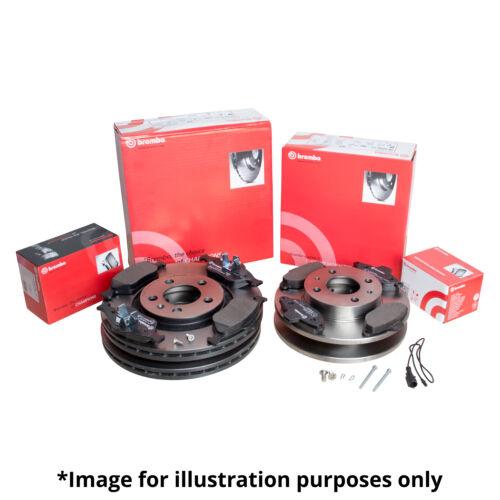 Véritable brembo avant et l/'essieu arrière frein kit disques de frein plaquettes frein plaquettes frein