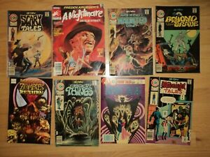 8-Vintage-Charlton-60s-80s-Horror-Comics-Scary-Tales-Freddy-Kreuger