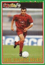 177 ABEL BALBO ARGENTINA AS.ROMA STICKER SUPERCALCIO 1997 PANINI