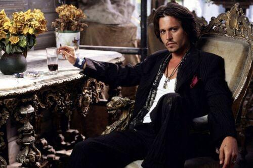 "Poster Johnny Depp Art Wall Cloth Poster 20x13/"" Print 16 Club star"