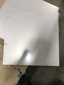 """3//16/"""" Stainless Steel 2B Mill Finish 304 Sheet Plate 6/"""" x 12/"""" set of 2"""