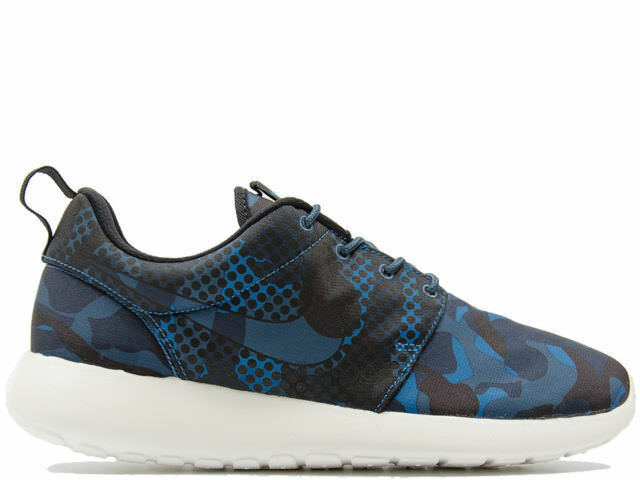 Zapato  Nike Roshe One One Roshe Print 655206 404 hombre Blu Nero Camouflage Deporteive Nuovo 1a9e0f