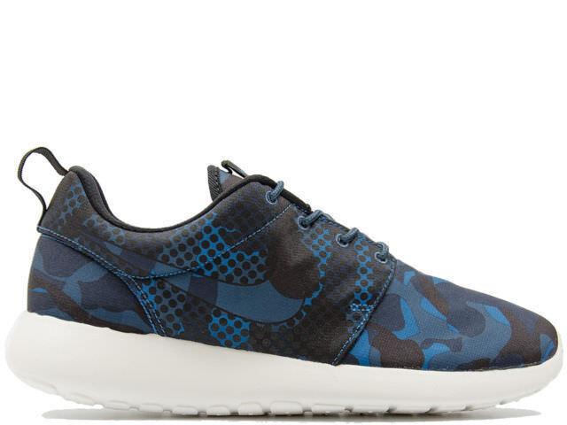 Zapato  Nike Roshe One One Roshe Print 655206 404 hombre Blu Nero Camouflage Deporteive Nuovo b181d7