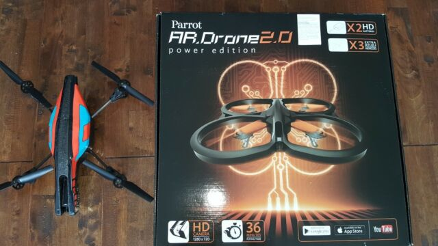 Parrot AR Drone 2.0 Power Edition + Extras