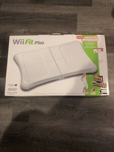 Nintendo-Wii-Fit-Plus-with-Balance-Board-Tested-and-Working