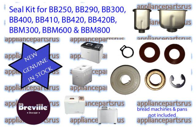 Breville Bread Maker Collapsible Paddle Models BB290 BBM300 BB420 BBM600 BBM800