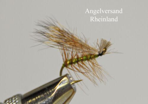 #14 selectable by Angel Shipping Rhineland 3 Elk Hair Caddis Hooks Size #10
