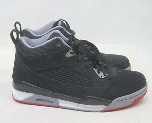 6c999794dc6 Nike Air Jordan Flight 9 Shoes 395553-001 Hi Blk/Cement/Red Size 8 ...