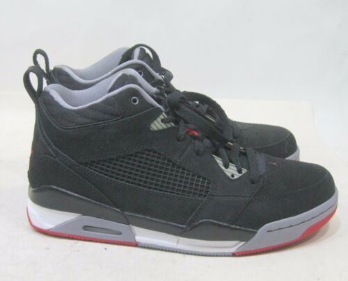 Chaussures 8 Taille Flight Jordan 395553 rouge Air Nike 9 Noir ciment Hi 001 qgBw1fafU