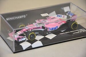 1:18 Minichamps Force India F1 Team Mercedes VJM11 Sergio Perez 2018